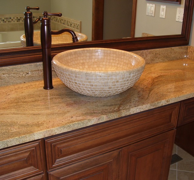 Travertine Sink Bowl: Travertine Vessel Sinks