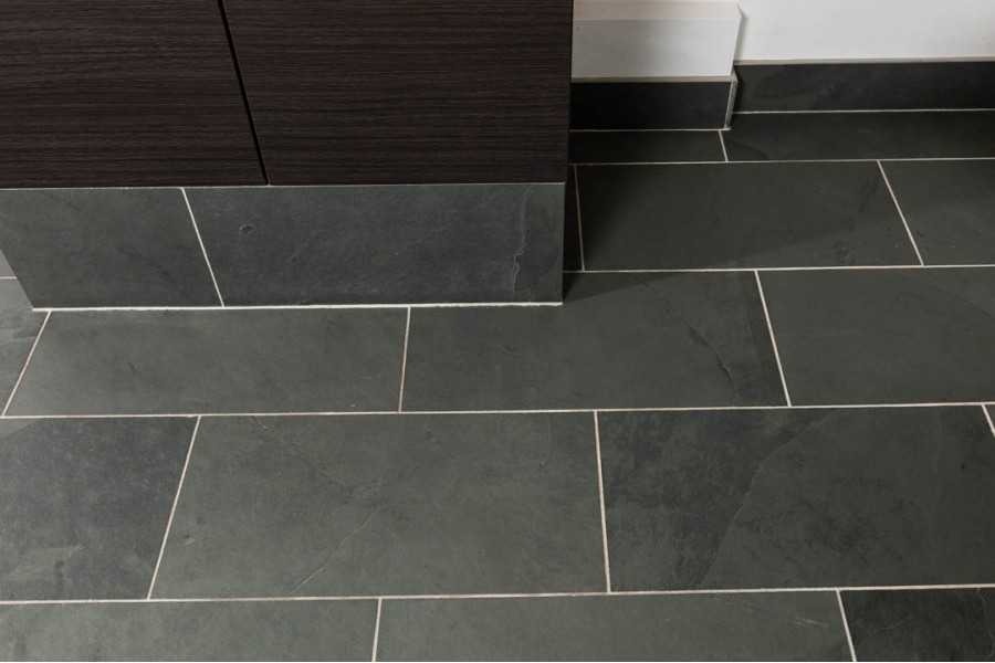 Exceptionnel Brazillian Gray Slate 12x24