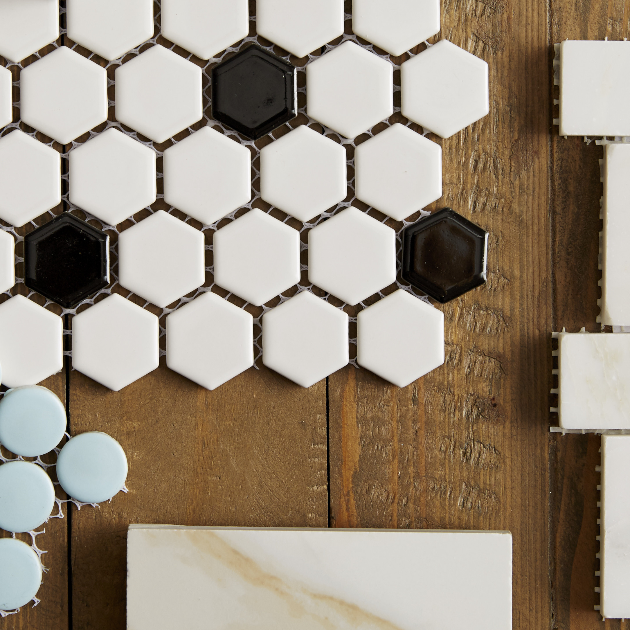 Top 10 Most Popular Hexagon Tiles - Portland Direct Tile & Marble